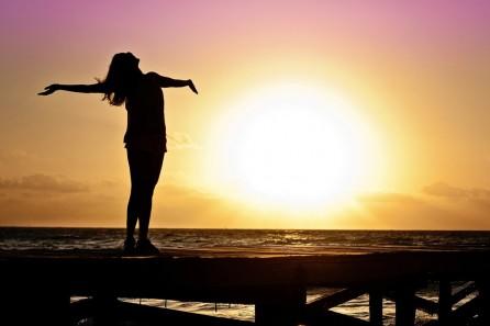 woman-sun