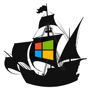 Microsoft jacht illegale kopieën Window en Office