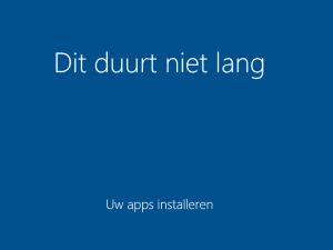 Gratis Windows 10: het aftellen is begonnen