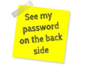 Suffe wachtwoorden niet uit te roeien