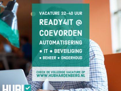 Ben jij Ready4IT? Wij zoeken een IT Specialist!