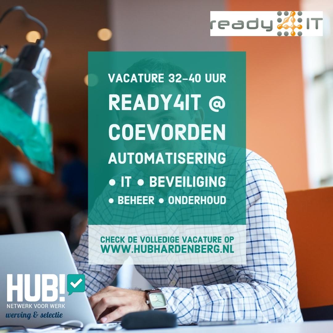 Vacature IT Specialist bij READY4IT via HUB! v2