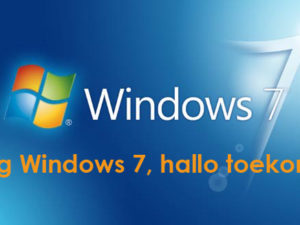 Windows 7 end of life 14 januari 2020